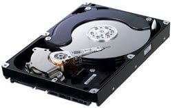 Устройство системного блока, жёсткий диск